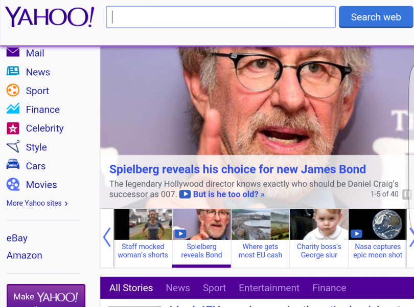 V Yahooju so do konca mislili, da je internet enak, kot je bil na začetku