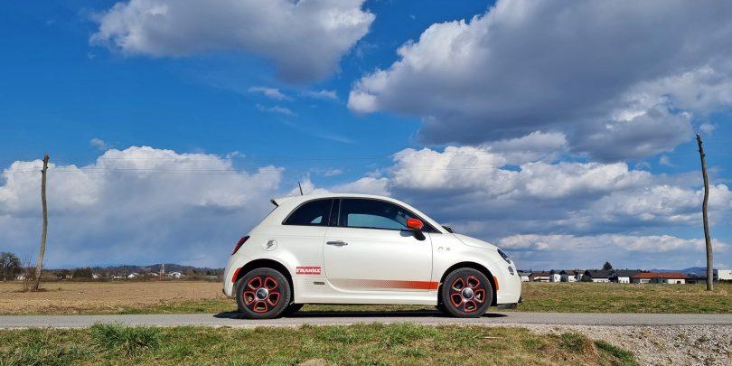 Fiat 500e, ameriška izvedba: Kulska strela iz preteklosti (#video)
