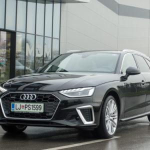 Baterije in dotikanje zaslona v vsak Audi A4