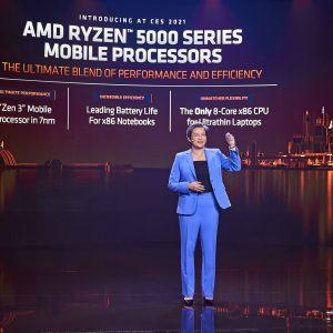 AMD melje naprej s procesorji Ryzen 5000 za prenosnike