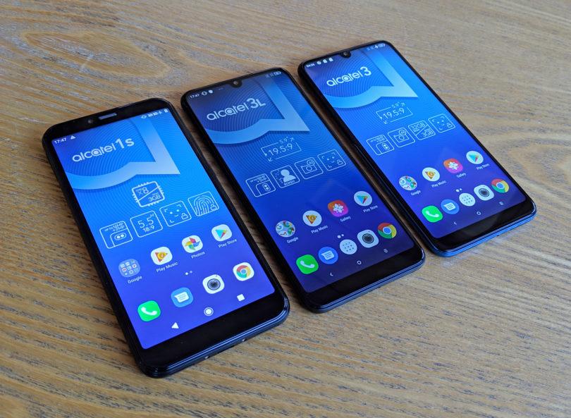 Za zdaj poceni Alcateli, drugo leto telefoni s prepogljivimi zasloni in znamko TCL