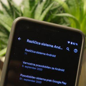 Android 11 je dokončan, dobiš pa ga verjetno čez nekaj mesecev