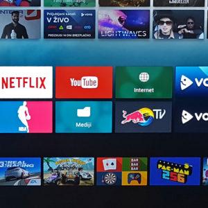 Android na televizorju mi nič kaj ne pomaga