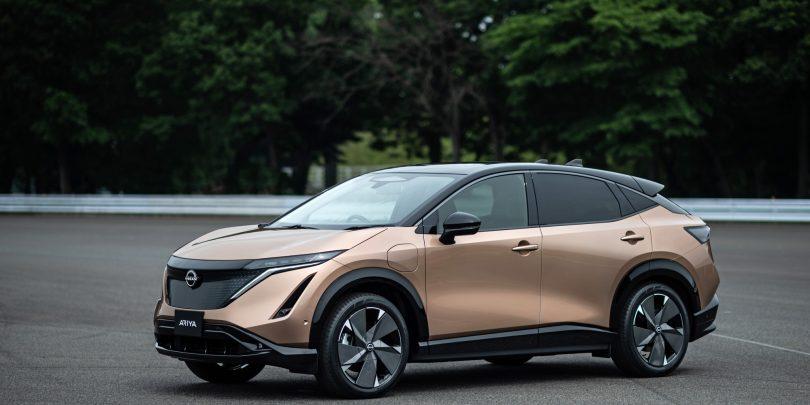 Nissanov električni preskok z modelom Ariya