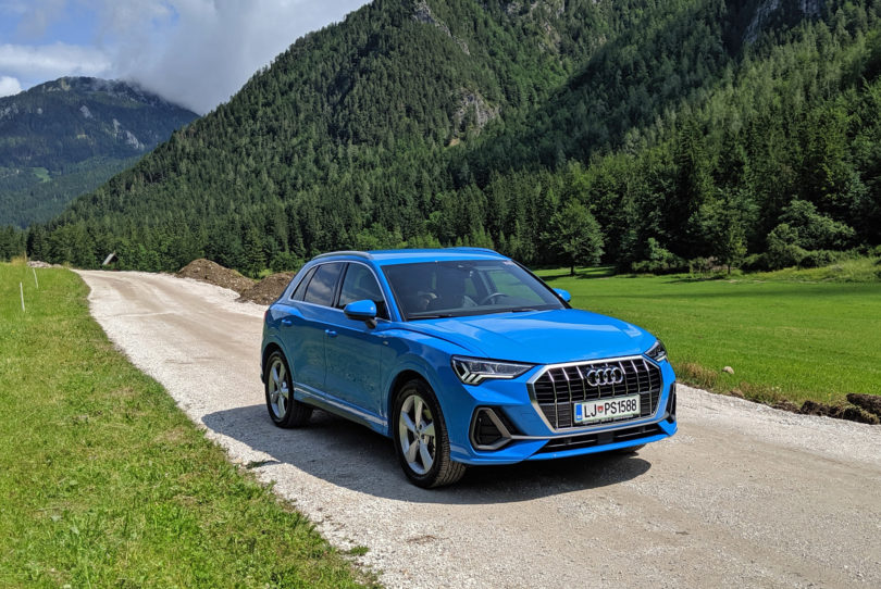Audi Q3: Imeniten in uporaben, toda …