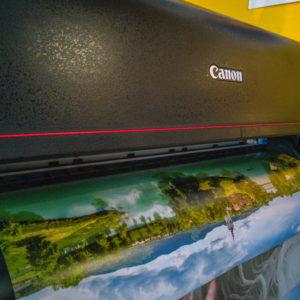 Canon imagePROGRAF PRO-2000: Na daljši »list« papirja