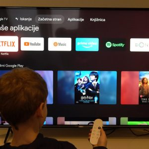 Nastavljanje predvajalnika Chromecast z Google TV (#video)
