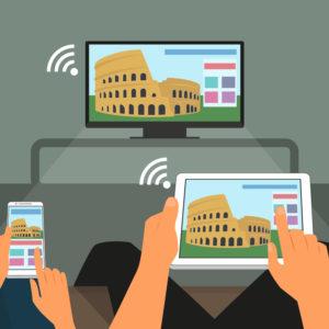 Sodobna družina ne potrebuje ne televizije ne fiksnega telefona?