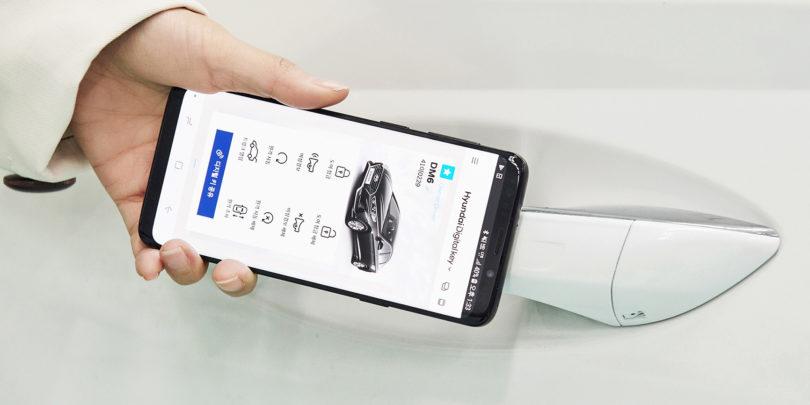 Hyundai in Kia uvajata ključ na telefonu