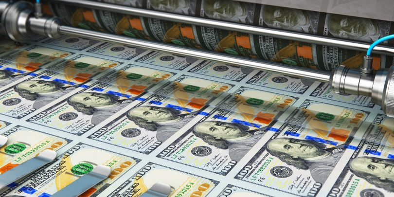 Tehnološki velikani so bili v drugem četrtletju tiskarne denarja