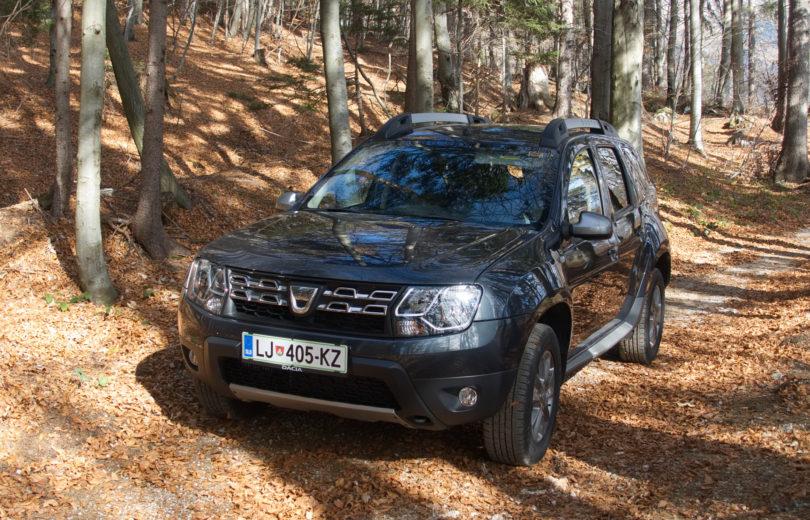 Dacia Duster: Nič manj kul zaradi pomanjkanja tehnologije