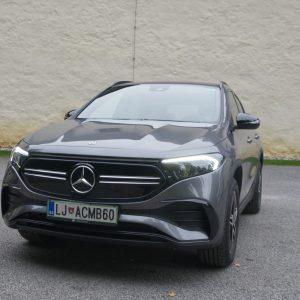 Mercedes-Benz EQA: Lepša vožnja kot v EQC (#video)