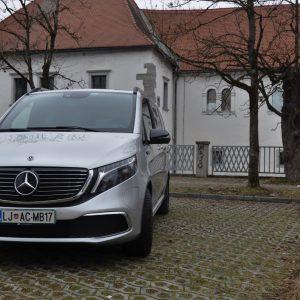 Mercedes-Benz EQV 300: Vsaj zaradi prostornosti ga boste vzljubili