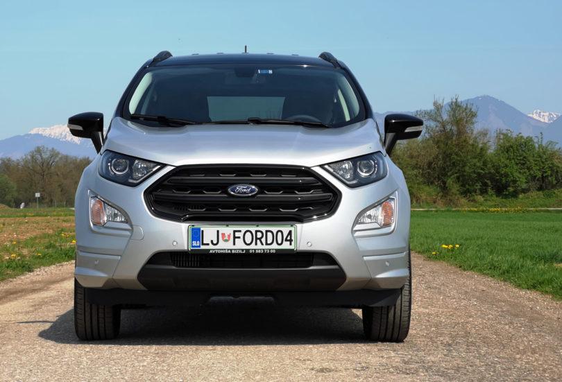 Fordov Ecosport je zdaj precej bolj labod kot grdi raček