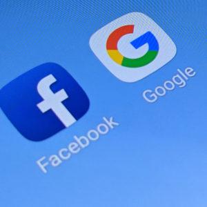 Facebook in Google jih za predrznost dobita po prstih, a nič več kot to