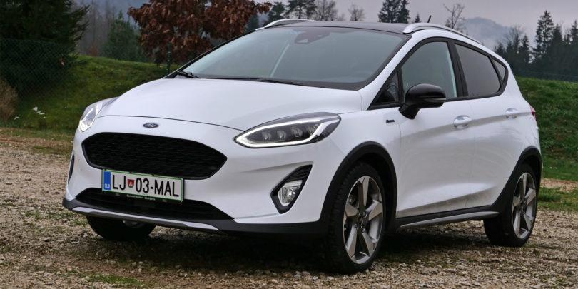 Ford prenovil ponudbo za aktivne in podjetne
