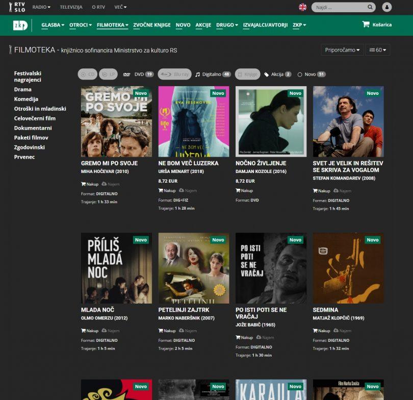 Končno! ZKP RTV Slovenija ponuja slovenske filme v pretočni obliki