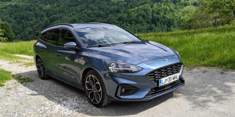 Ford Focus karavan ST-Line: Najboljši  za vozit, blizu najboljših za vsakdanjo uporabnost