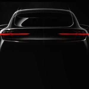 Ford je s sliko napovedal povsem novo električno vozilo