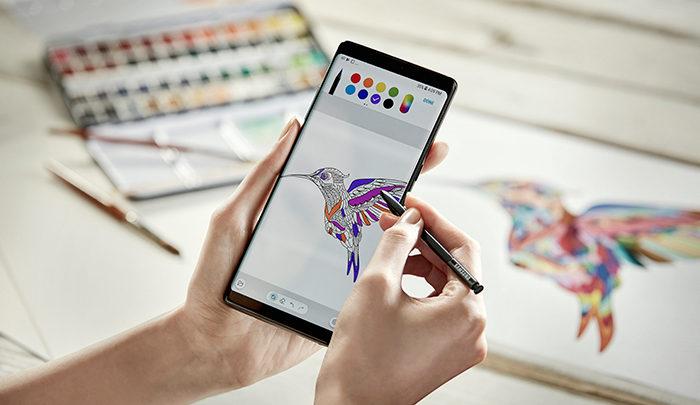 Samsungov Galaxy Note8 je pričakovana evolucija preverjenega koncepta
