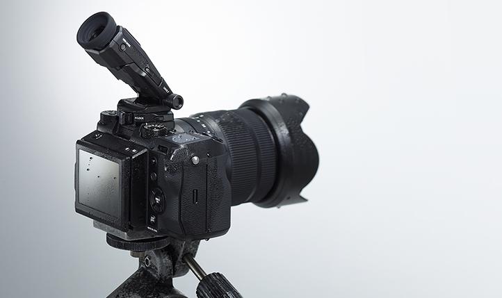 Fujifilm GFX 50S: Jasno sporočilo