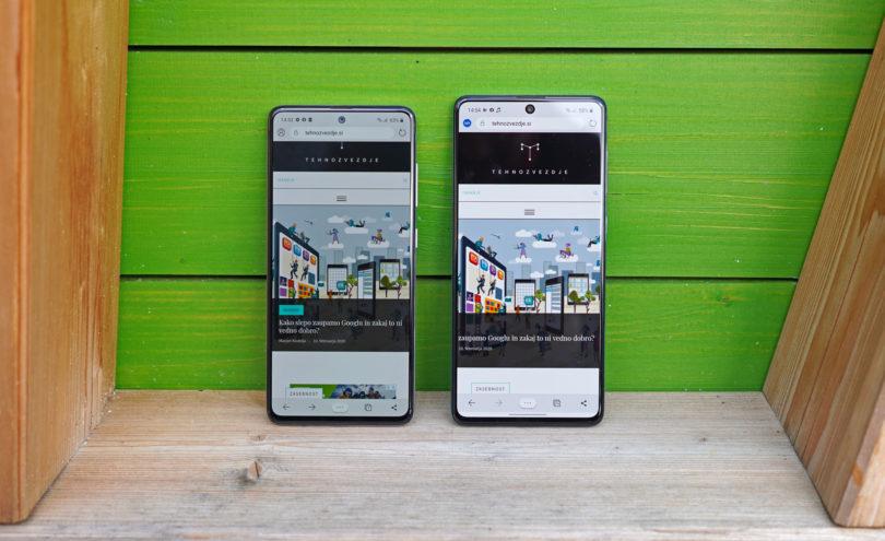 Samsung Galaxy A51 in Galaxy A71 – Plezanje navzgor (#VIDEO)