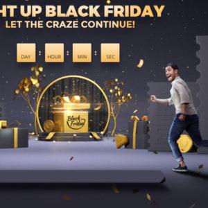 Črni petek 2019 v trgovini Gearbest, spet s posebnimi kodami za popuste
