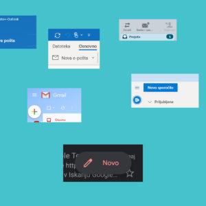 IZBOLJŠAVA TEDNA: Gumb za novo sporočilu v Gmailu