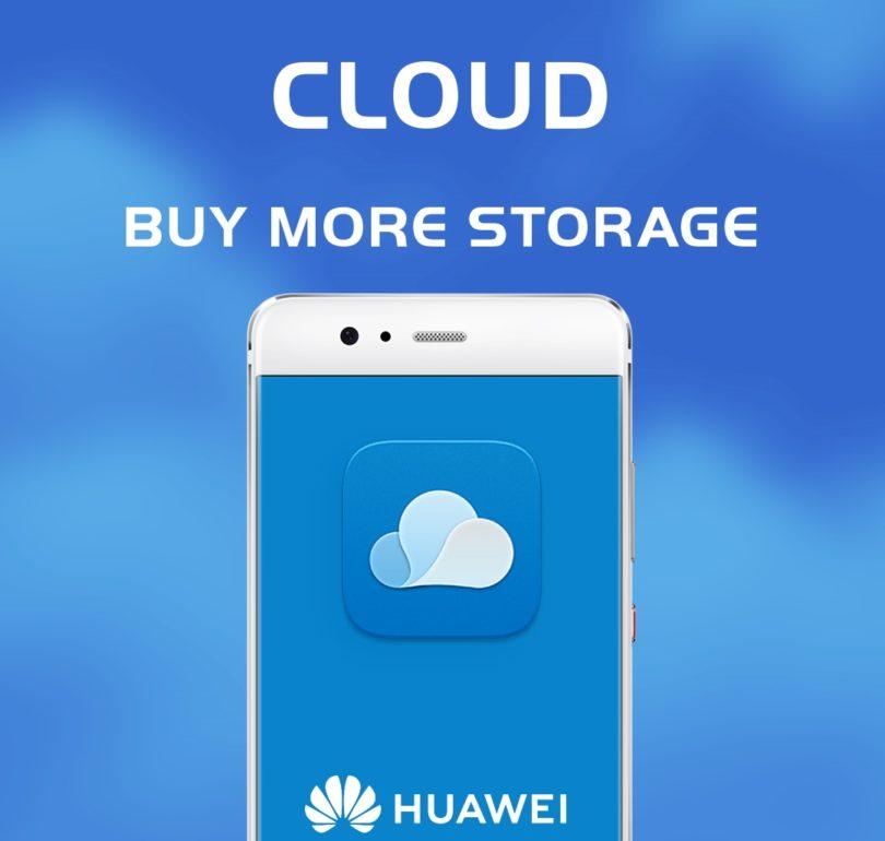 Huawei Cloud zdaj omogoča zakup dodatnega prostora