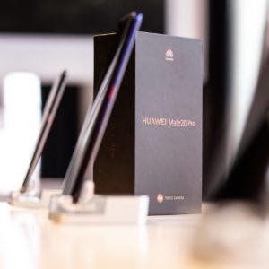 Telefoni serije Huawei Mate 20 so vroča roba