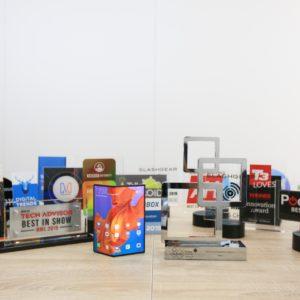 MWC 2019: Huawei požel izjemen uspeh in pobral vrtoglavo število nagrad