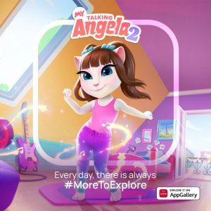 Nova mobilna igra My Talking Angela 2 na voljo v trgovini AppGallery