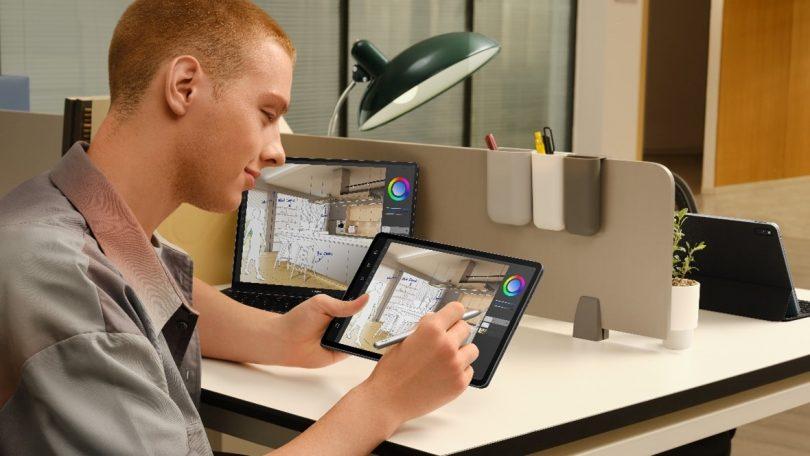 Huawei MatePad 11 podpira sodelovanje na več zaslonih