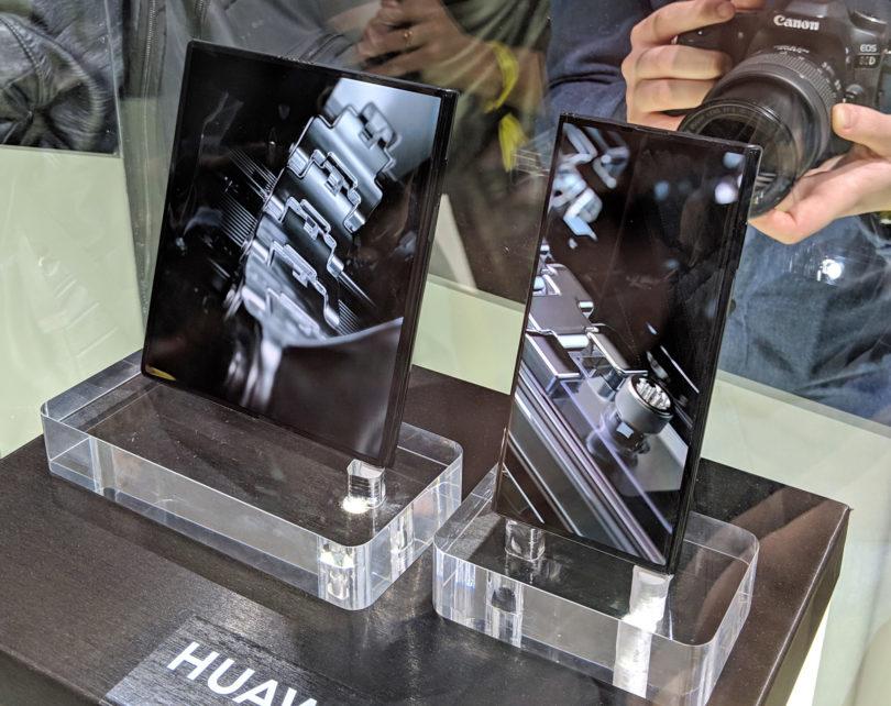 Huaweijev prepogljivko bo še dražji, a tudi izgleda bolj premišljen od Samsungovega
