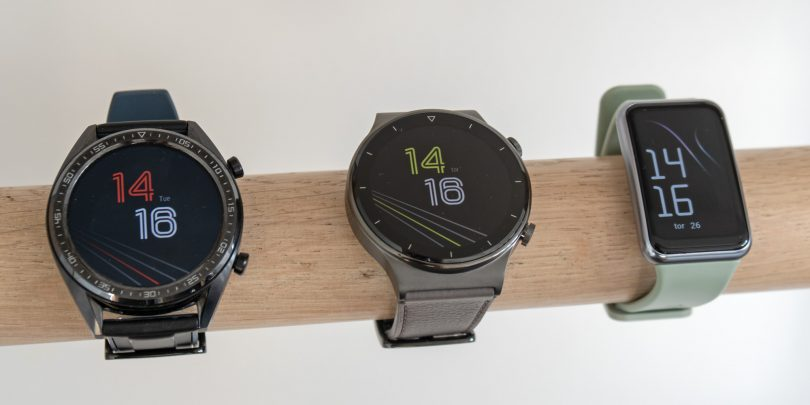 Ure Huawei Watch GT (in Fit) so se v dveh letih zasidrale, a tudi malo stagnirale (#video)