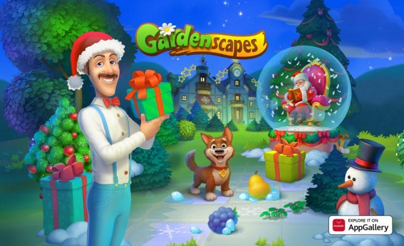 Skočite v živahen svet mobilne igre Gardenscapes