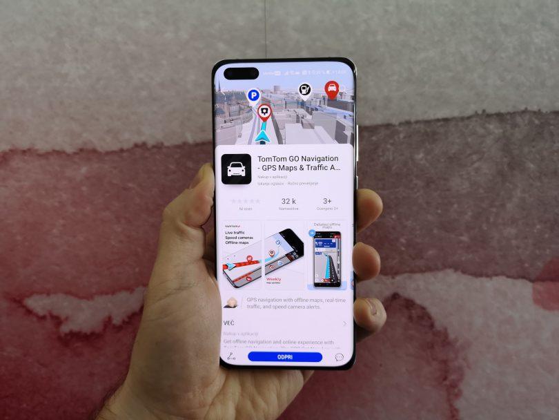 Aplikacija za navigacijo TomTom GO na voljo v trgovini AppGallery
