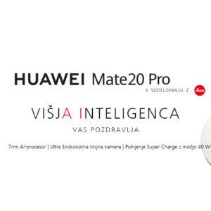 Prednaročila za Huawei Mate 20 Pro že na voljo