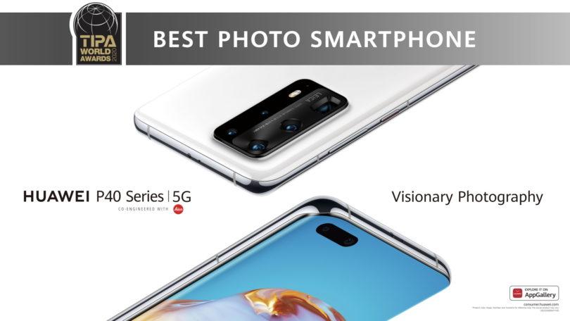 Telefoni serije Huawei P40 dobili priznanje za najboljše na področju fotografije