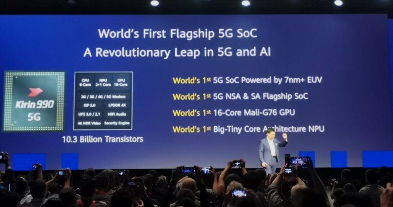 Procesor Kirin 990: Integriran 5G modem in »nadgradnja« zmogljivosti lanskega modela