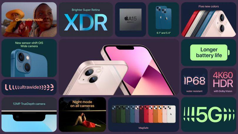 Večja nadgradnja za iPhone 13 Pro (Max), cenejša iPhone 13 in iPhone 13 Mini s standardno osvežitvijo specifikacij