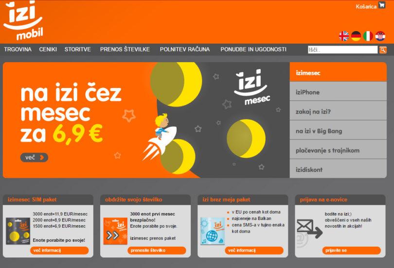 Izimobil bi se lahko kmalu znašel pod okriljem Telekoma Slovenije