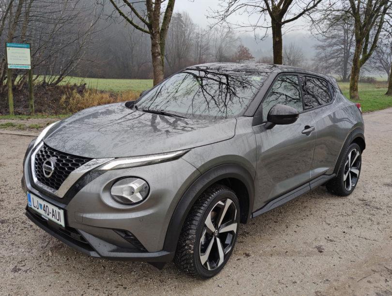 Nissan Juke je bistveno bolj prostoren in udoben, a nekoliko manj poseben