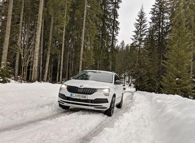 Škoda Karoq Sportline 2.0 TDI 4×4: Več, kot imajo veliki