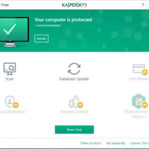 Kaspersky Free je povečal izbiro zastonjskih protivirusnih programov