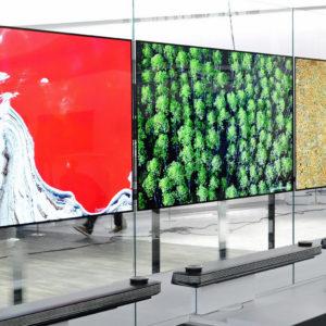 Televizor kot tapeta mogoče niso več oddaljene znanstvenofantastične sanje