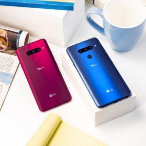 LG s petorčkom fotoaparatov v telefonu V40 ThinQ