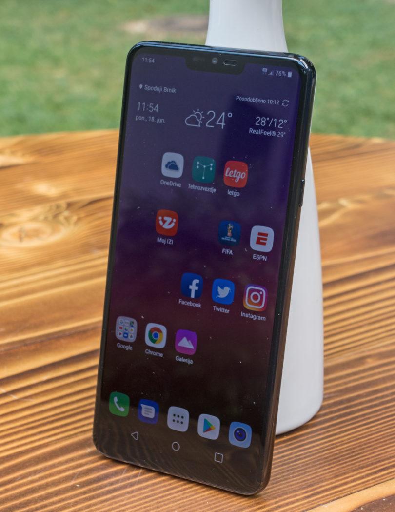 LG G7 ThinQ: Brez ekscentričnosti je bolje