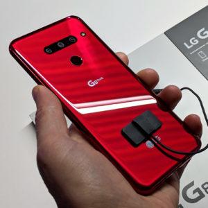 LG meri čas potovanja svetlobe za večjo varnost in drugačno interakcijo s telefonom