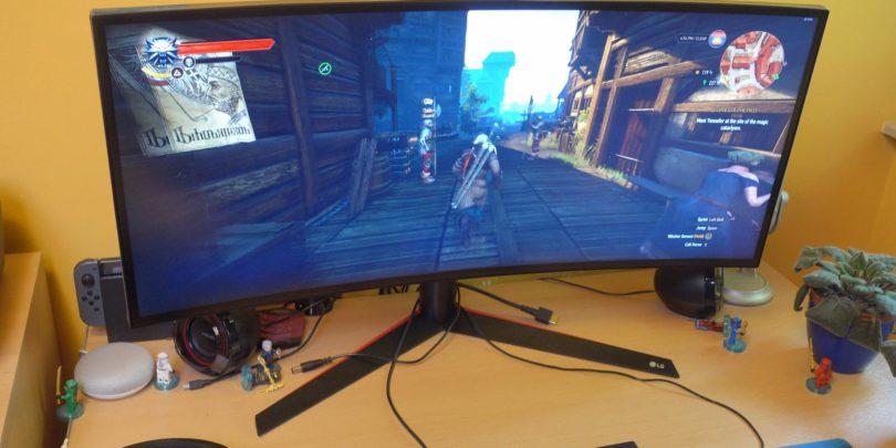 LG 34GK950F: Monitor za resne igričarje, a tudi za ustvarjalce (#video)